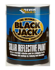 Solar Reflective Paint Is A Thin Bituminous Based