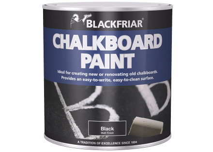 Blackfriar Chalkboard Paint Produces A Chalkboard Surface