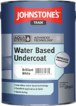 Johnstones Water Based Undercoat Is Quick Drying And Low