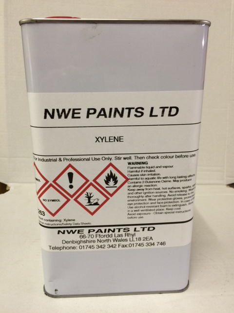 Thinners & Solvents - Xylene, Acetone, Standard Cellulose Thinners
